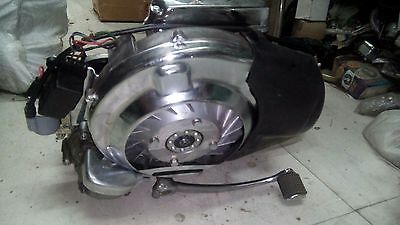 Vespa 100Cc Complete Engine With Exhaust And Hub