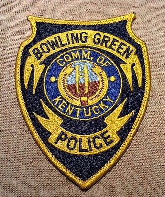KY Bowling Green Kentucky Police Patch