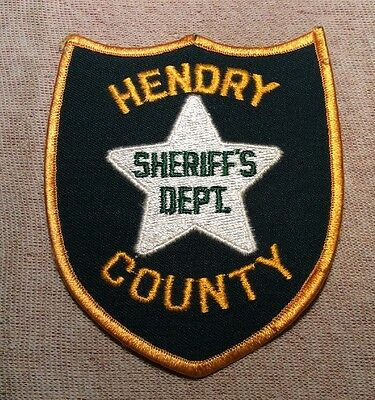 FL Hendry County Florida Sheriff Patch