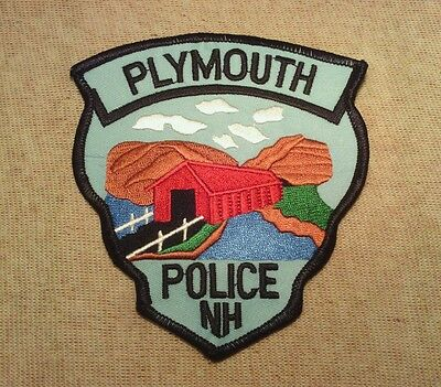 NH Plymouth New Hampshire Police Patch