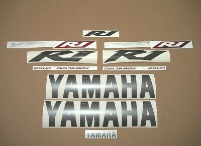 YZF-R1 2007 full decals stickers graphics set kit 4C8 RN19 motorcycle adhesivos