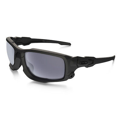 Oakley SI Ballistic Shocktube Matte Black Grey Brille Military