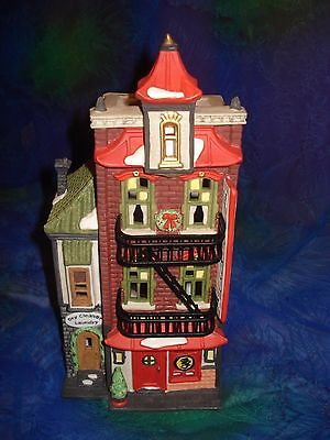 Dept 56, Wongs in Chinatown, The Heritage Village, Christmas in the City