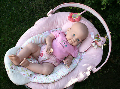 Reborn Doll Kitkitten Head And Legs Only Body/eyes/props  Not Included