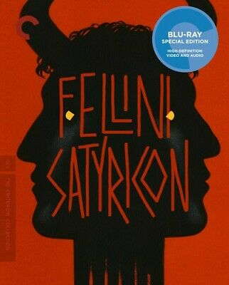 Fellini Satyricon (Criterion Collection) [New Blu-ray] Subtitled, Widescreen