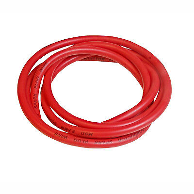 MSD 34039 Super Conductor Spark Plug Wire 8.5mm Red Roll 6' Length