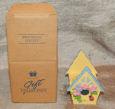 Vintage Avon Easter Egg Cup Bird House #032 New