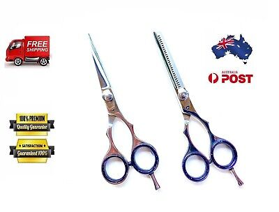 "PROFESSIONAL HAIRDRESSING BARBER SALON HAIR CUTTING SCISSORS SHEARS 5.5"" and 6"""
