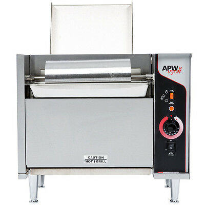 APW Wyott M-95-2 Electric Countertop Bun Grill Conveyor Toaster