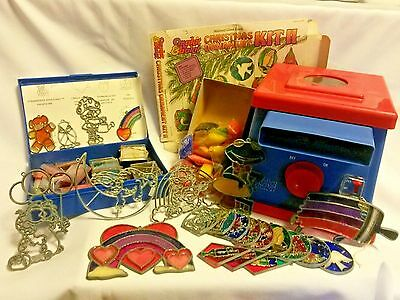 Vtg Make It Bake It Oven With Lots Of Extras Stained Glass Garfield Christmas 89 99 Picclick