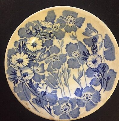 Wood & Sons GAY DAY BLUE Dinner Plate 774078