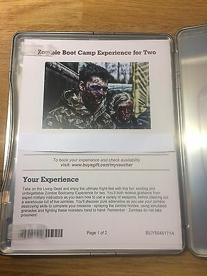 Zombie  Boot Camp Experience For Two