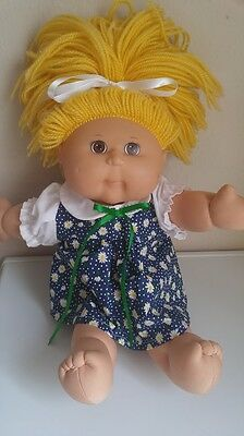 """Little Daisies Printed Dress and White Panties for 16"""" Cabbage Patch Doll"""