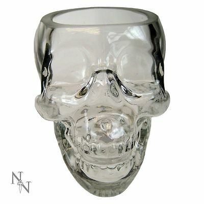 Crystal Skull Drinking Glass by Nemesis Now
