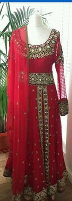 Designer Anarkali Salwar Kameez Indian dress pakistani Bollywood Traditional