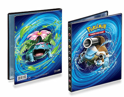 XY-12 Evolutions Ultra Pro Pokemon Card Folder A5 4 Pocket Portfolio Album