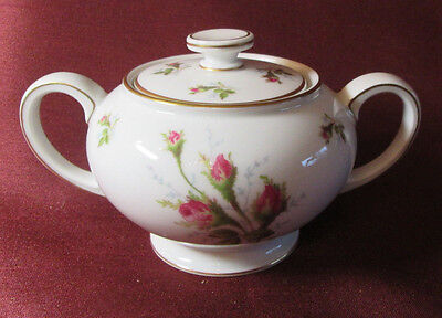 Beautiful ROSENTHAL Hand Painted POMPADOUR ROSE Sugar Bowl With Lid