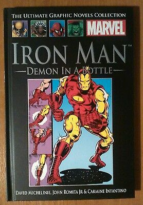 Iron Man Graphic Novel - Demon in a Bottle - Marvel Comics Collection