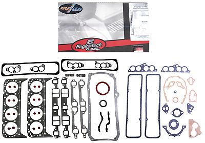 Full Complete Gasket Set 1985-1995 Chevy Truck 305 5.0L V8 Tbi Tpi 1 Piece Seal