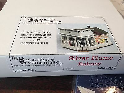 Building & Structure Co S Scale Silver Plume Bakery Csm 4081S