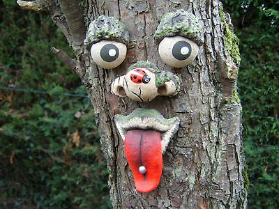 TREE FACE.  Garden decoration, ornament, statue, sculpture, Great gift ideas.