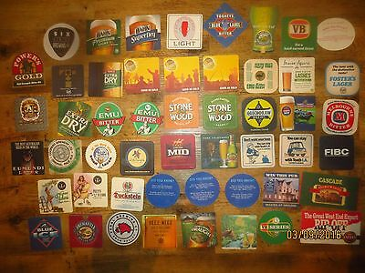 51 Different Australian BREWERIES collectable COASTERS