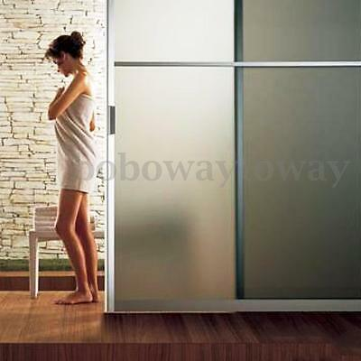 90cmx5m Frosted Window Tint Glass Privacy PVC Film For DIY Home/Office/Store