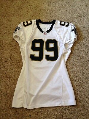 Aubrayo Franklin New Orleans Saints Game Worn / Issued Jersey