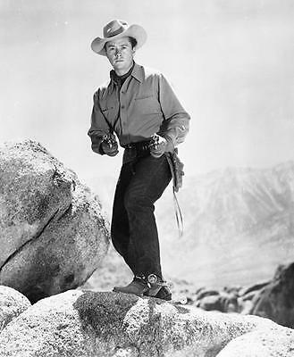 Tim Holt  In A  Western 8X10 Photo