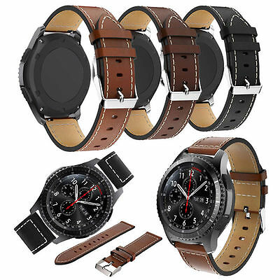 Special Leather Wristwatch Bands Strap For Samsung Gear S3 Classic Frontier