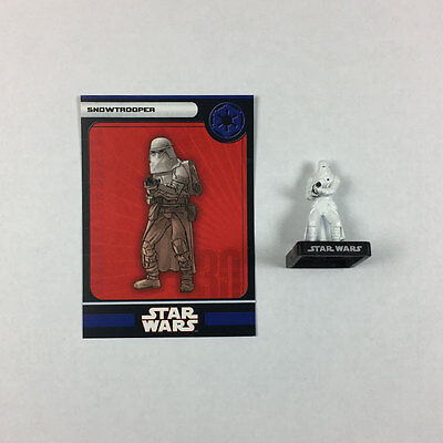 Star Wars Miniatures Alliance and Empire #32 Snowtrooper (w/card)