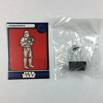 Star Wars Miniatures Alliance and Empire #34 Stormtrooper (w/card)