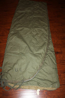 Vintage US Army Military Feather Sleeping Bag  M-1952