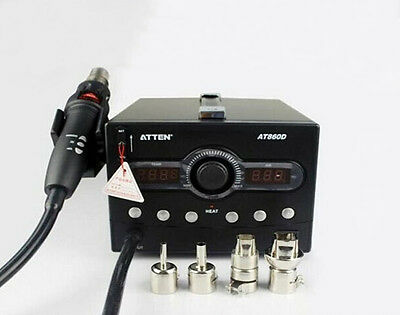 AT860D Hot Air Rework Station 800w Power Consumption Smart Cooling System Auto
