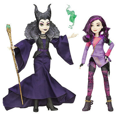 Disney Descendants Mal and Maleficent Doll 2 Pack