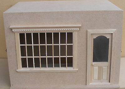 1:12th Dolls House Display Made Up Room Shop Shadow Box With A Removable Front B