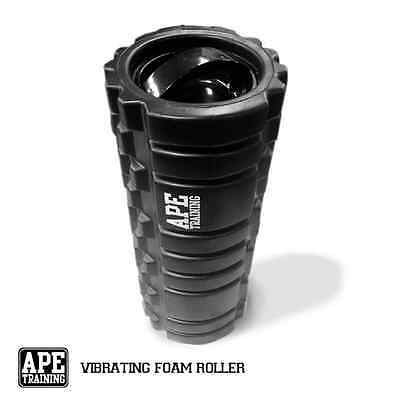 APE Training Vibrating Foam Roller for Trigger Point Therapy, Yoga, Pilates, Cro