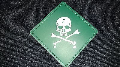 Brand New Poison Chemical Green Patch Loop Hook Aussie Australian Seller !!