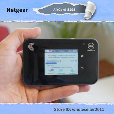 Unlocked Netgear Aircard AC810S 4G LTE Cat 11 600Mbps Best Wifi Router 2017 New