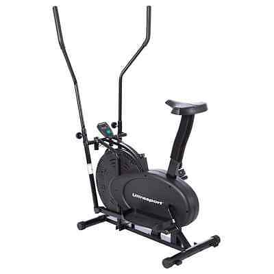 Ultrasport Crosstrainer 250 with Computer and Seat
