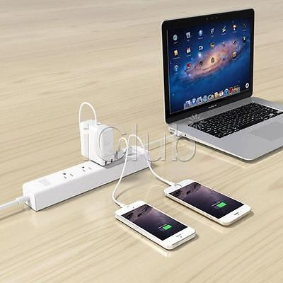 Surge Protector Power Strip 4 USB 3 Outlet Charger Port 3 Way Extension Cord 6FT