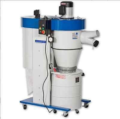 Axminster Industrial Series UB-2200VECK Cyclone Extractor 230v 1ph (Used)