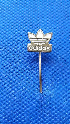 Pin - Adidas Logo - White