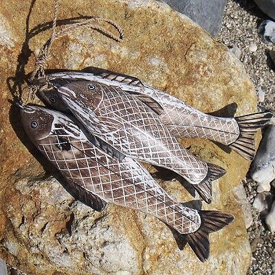 Sea Bass Fish Bunch | Hand Carved by Archipelago | D166