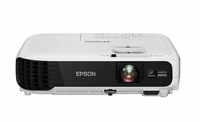 Epson EB-W04 LCD Projector, 3000 Lumens, 16:10 Aspect Ratio, Integrated Speakers