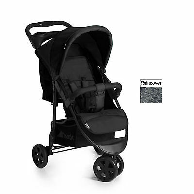 Hauck Caviar / Stone Citi Neo Ii Pushchair Stroller Baby Buggy With Raincover