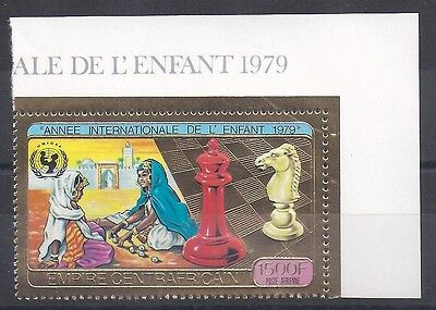 EMPIRE CENTRAFRICAIN - PA N°203 Stamp New 1979 - CHESS