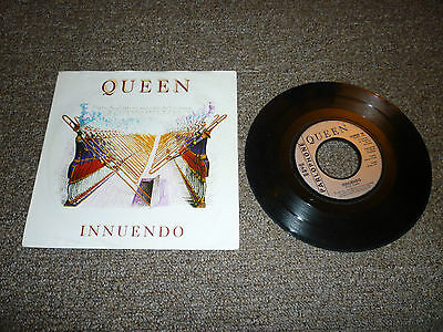 "Queen - Innuendo 7 Inch"" Single Vinyl Record 45Rpm Picture Sleeve"