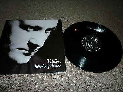 Phil Collins (Genesis) - Another Day In Paradise 12 Inch Single Vinyl Record 45