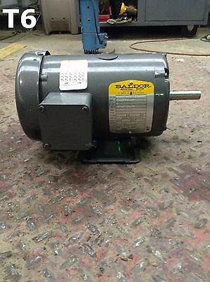 Baldor M2A 97016500-001 1HP Electric Motor 208-230/460V 1725RPM 3PH TEFC
